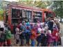 Wizyta strażaków w przedszkolu
