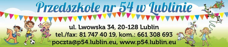 Przedszkole numer 54 w Lublinie